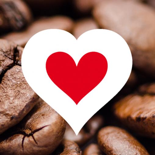 Caravan Koffie Bar hart love
