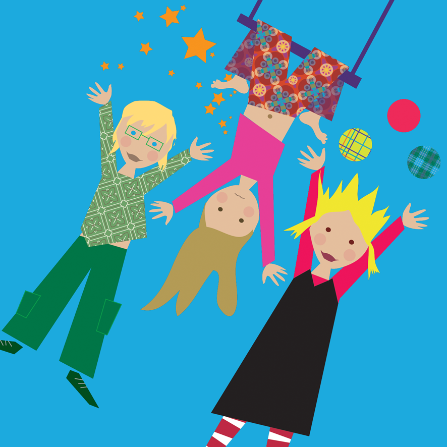 Burgemeester Marnixschool Schoten banner illustratie