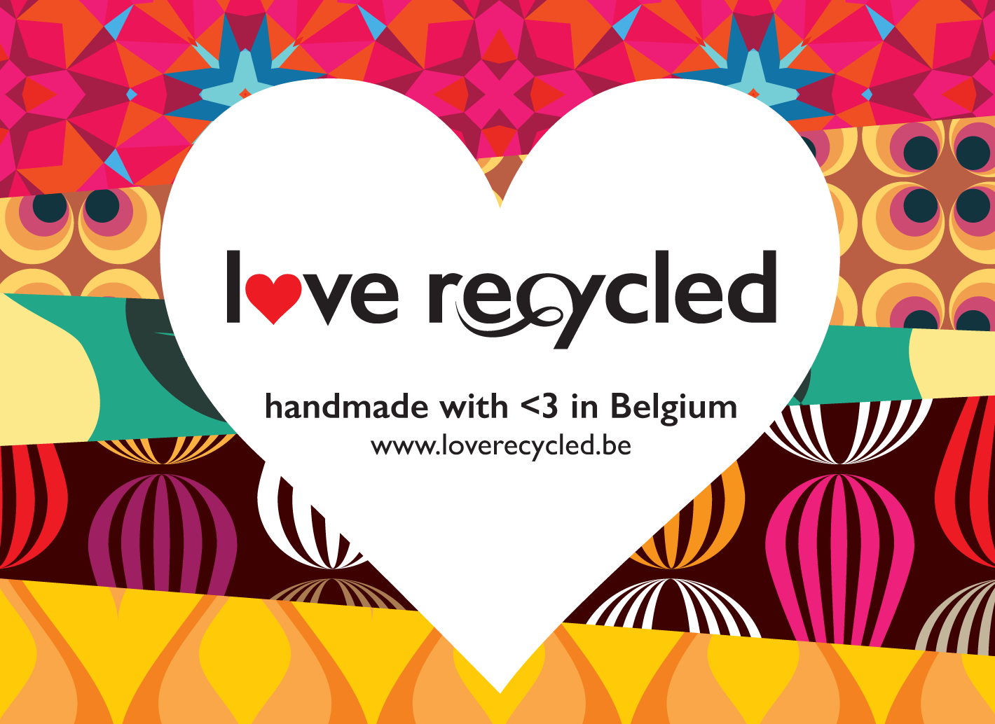 Love Recycled logo en visitekaartje