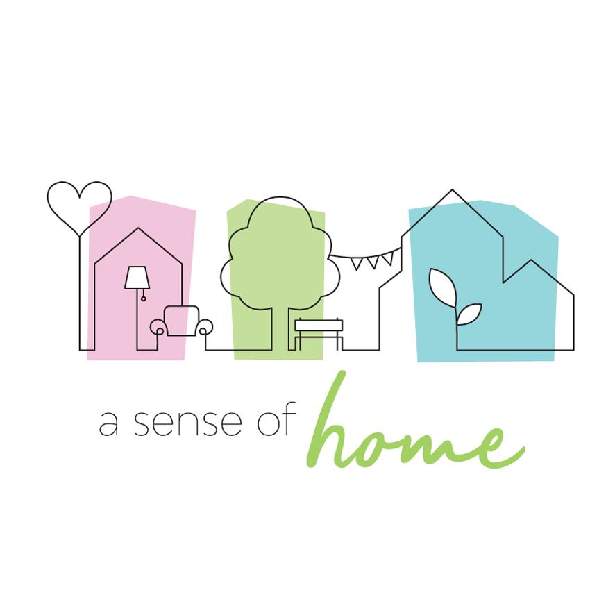 a sense of home logo AP hogeschool Artesis Plantijn