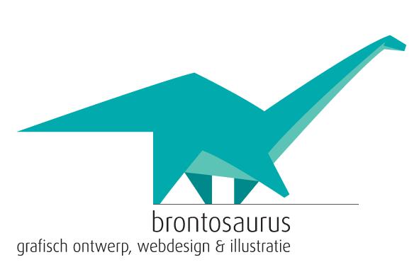 brontosaurus graphics logo