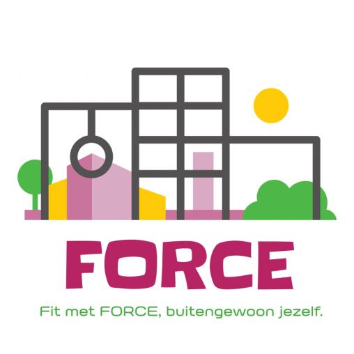 Logo Force voor Octopusplan urban workout logo